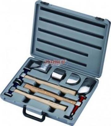 Trusa profesionala de ciocane pentru tinichigerie de la Zimber Tools