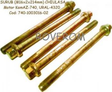 Surub (m16x2x214mm) chiulasa motor Kamaz-740, Ural-4320