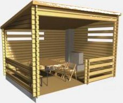 Foisor lemn de la Case De Lemn