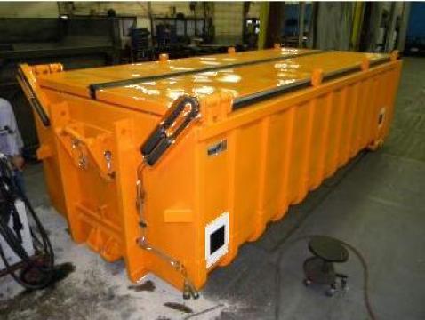 Containere cu capac, cu actionare hidraulica Abroll