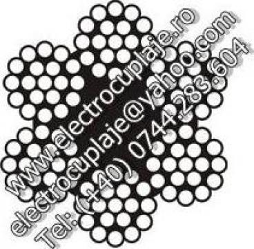 Cablu de tractiune zincat, 6x19 de la Electrofrane