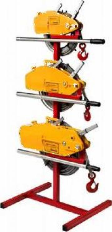 Troliu manual cu cablu 1600 kg (Tirfor) de la Www.toplift.ro