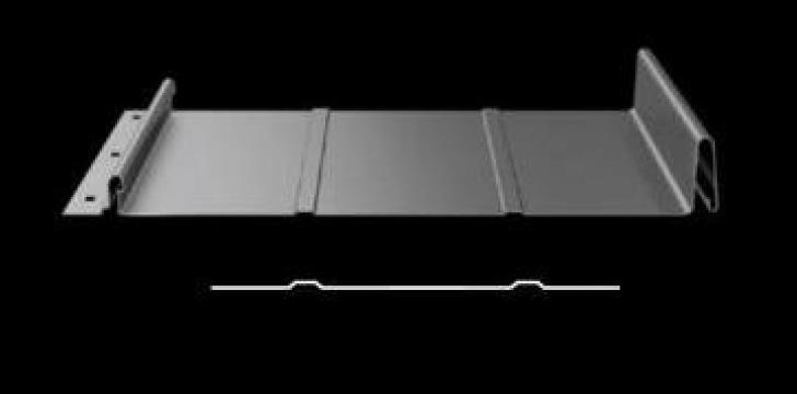 Tabla faltuita cu click , grosime 0.5mm + 25 microni vopsea de la Acoprom Srl