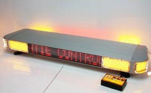 Rampa luminoasa cu afisaj LED programabila