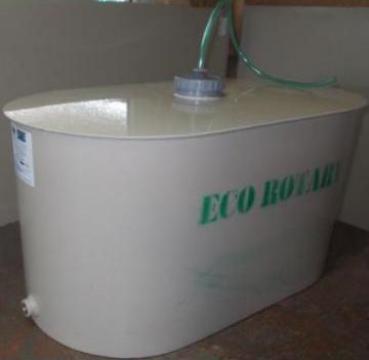 Butoaie de vin elicoidale inlocuitor plastic inox de la Eco Rotary SRL
