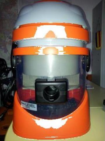 Aspirator fara sac si cu filtrare prin apa Duravac Bio de la Tehnic Clean System