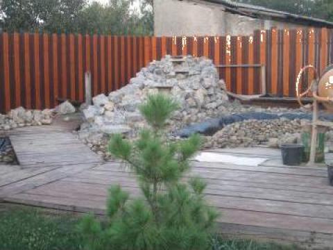 Amenajari curti, gradini, spatii verzi de la Romanzid Construct Srl