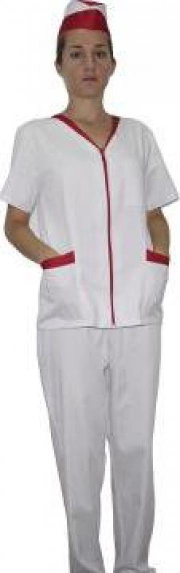 Costum din tercot asistent medical, industria alimentara de la Corsa Design Company Srl