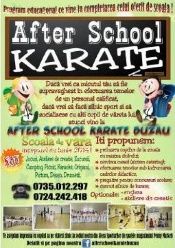 Servicii After School karate