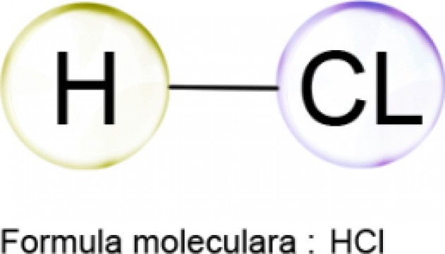 Acid clorhidric 37 % p.a. - 5 litri