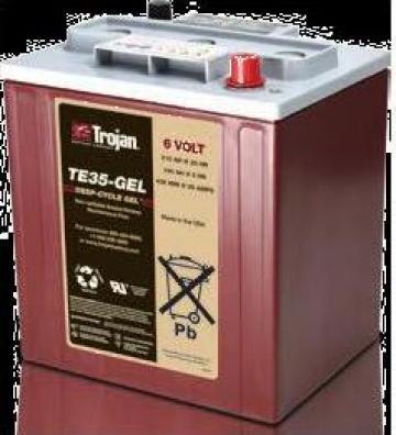 Baterie 6V TE35 Gel VRLA
