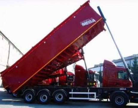 Semiremorci basculabile cu bena din aluminiu Mega de la Allspeed - Trucks