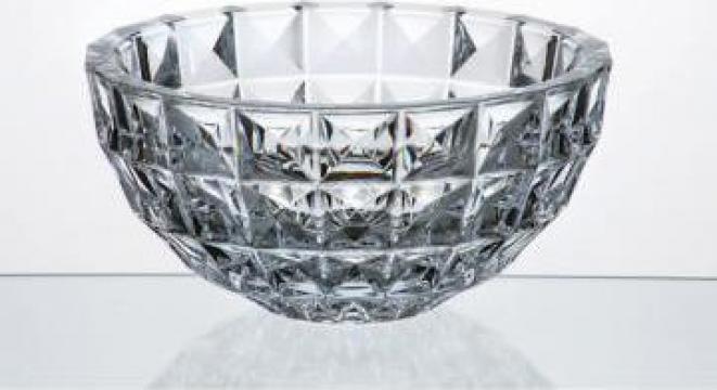 Bol Cristal Bohemia 28 cm Diamond de la Dodana Mag Srl