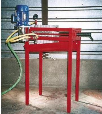 Filtru ulei vegetal (dispozitiv filtrare) de la Gamm Productie Servicii Comert Srl