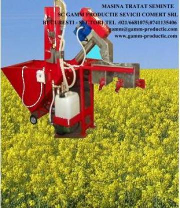 Masina tratare cereale seminte