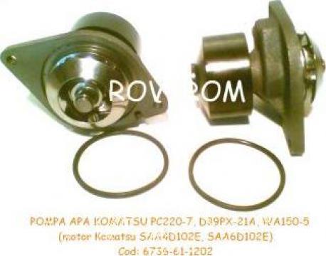 Pompa apa Komatsu 6D102, Cummins, Iveco, Volvo, Case/IH