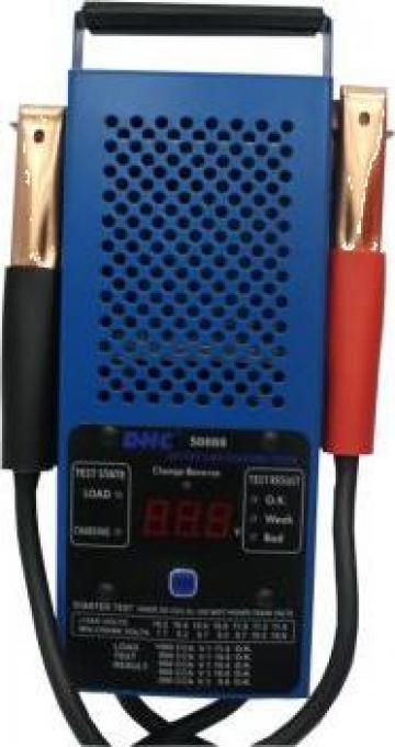 Tester baterie-acumulator cu ecran digital 12V 250AH de la Zimber Tools
