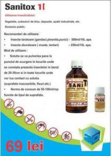 Insecticid profesional Sanitox de la 3Devomag