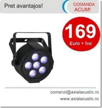 Proiector PAR cu LEDuri colorate de la Amro Electronic Grup