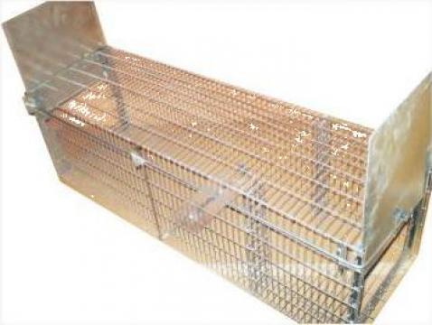 Capcana cu 2 intrari / 140/40/h=50 cm (vulpe) de la Bobilech Srl