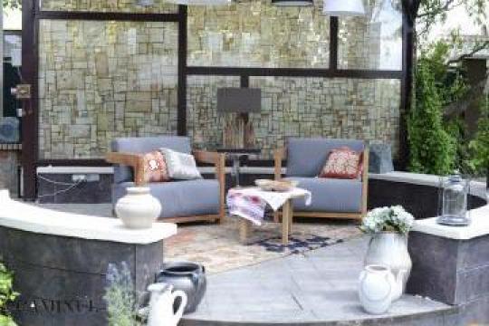 Set mobilier terasa de la Curacao Pools Srl