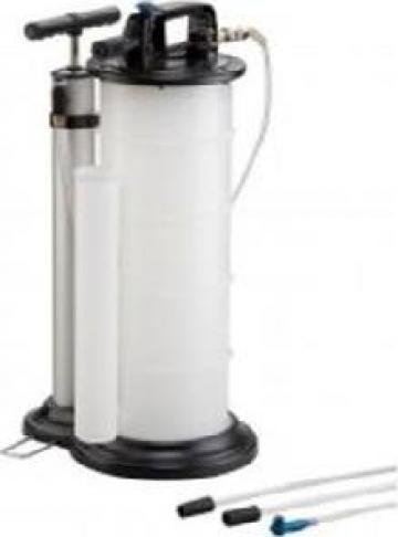 Pompa - Extractor de ulei pneumatic si manual 9L de la Zimber Tools