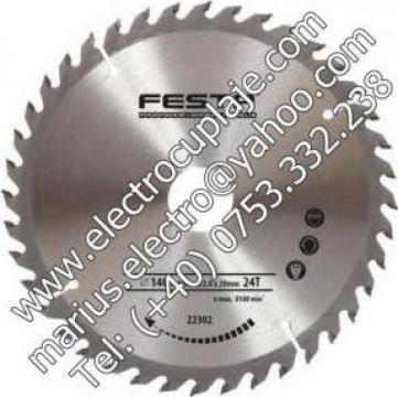Panza circulara placata 205 x 30 mm 60Z de la Electrofrane
