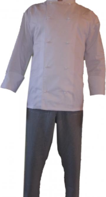 Costum de bucatar alb de la Johnny Srl.