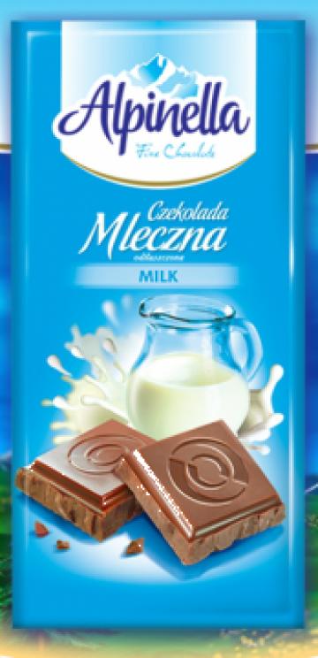 Ciocolata cu lapte Alpinella 90 g
