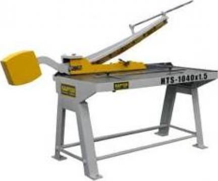 Foarfeca pentru tabla Raptor HTS 1040 de la Seta Machinery Supplier Srl