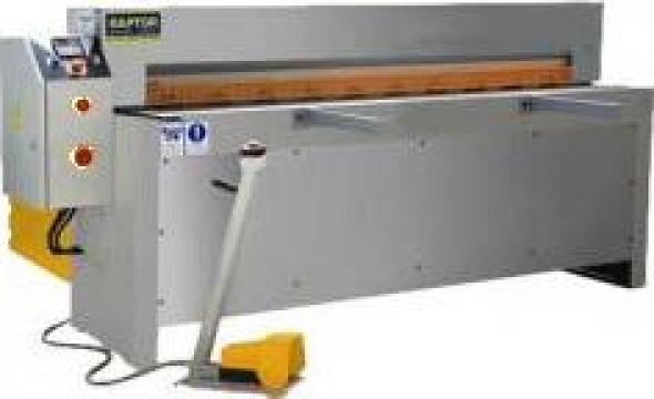 Ghilotina hidraulica Raptor MTS 1550 de la Seta Machinery Supplier Srl