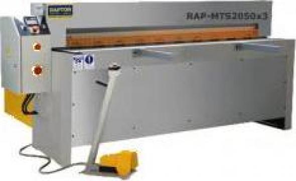 Ghilotina hidraulica Raptor MTS 2050 de la Seta Machinery Supplier Srl