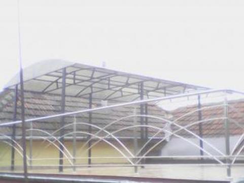 Balustrada + copertina de fier forjat de la Sc Ambient Inox Srl