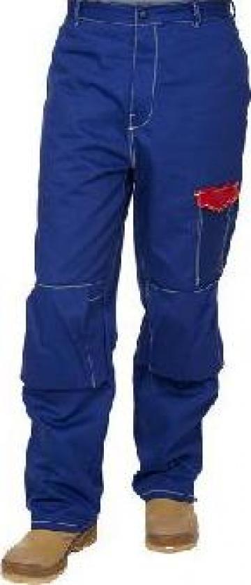 Pantalon sudor din bumbac ignifug 33-2600 Weldas de la Bendis Welding Equipment Srl