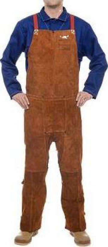 Pantalon sudor din piele cu pieptar 44-7248 Weldas de la Bendis Welding Equipment Srl