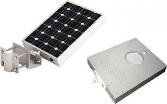 Corp compact de iluminat solar 18W-LED 12W de la Samro Technologies Srl