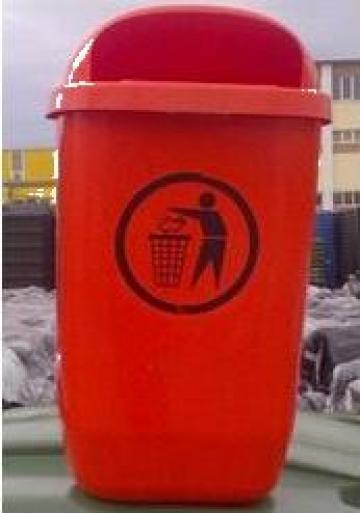 Cos gunoi stradal, 50 litri de la Eurostart Srl