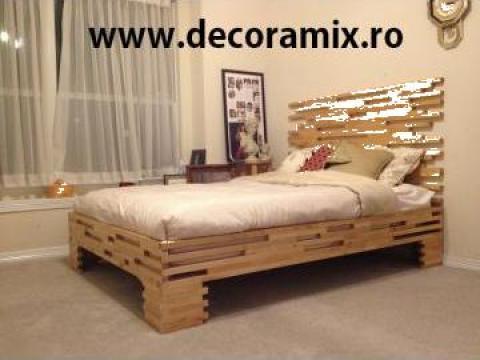 Mobilier lemn masiv, mobilier rustic
