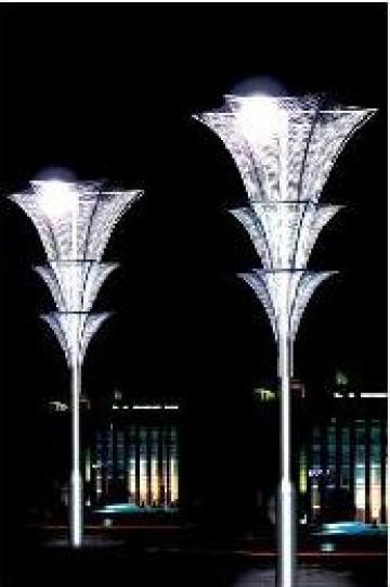 Stalp iluminat parcuri zone rezidentiale PLGSP46 de la Palagio System Group