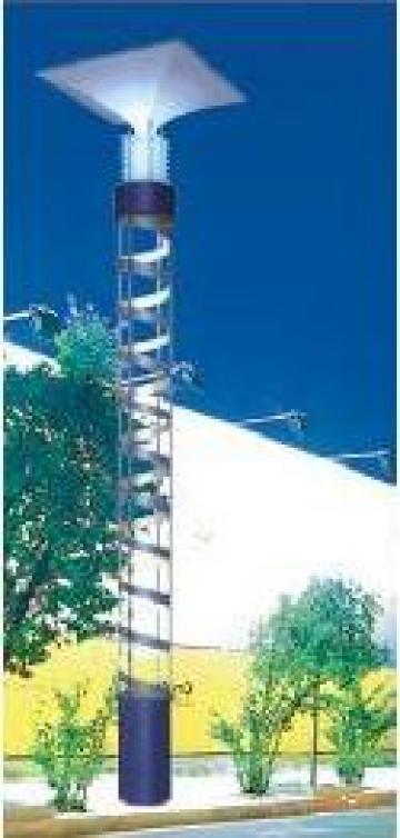 Stalp iluminat parcuri zone rezidentiale PLGSP49 de la Palagio System Group