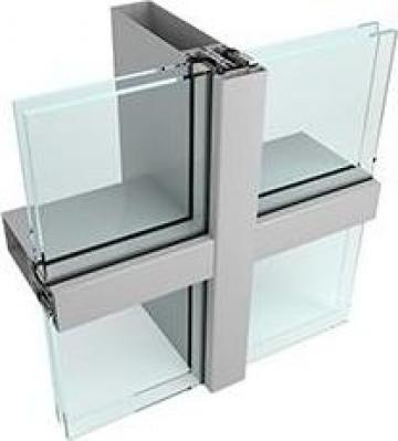 Perete cortina de la Arcom Glass Tamplarie Aluminiu