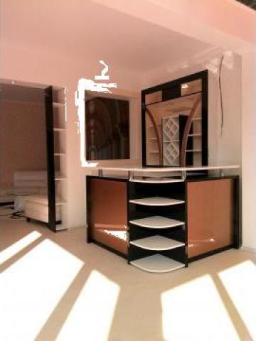 mobilier bar open space proiect 3d si executie. Black Bedroom Furniture Sets. Home Design Ideas