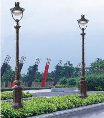 Stalp iluminat parc din aluminiu PLGSA2 de la Palagio System Group
