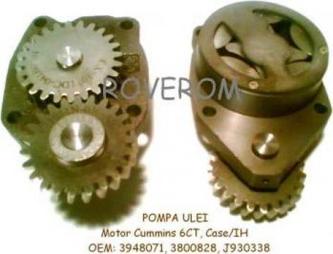 Pompa ulei Cummins 6CT8.3, QSC8.3, Komatsu S4D114E, de la Roverom Srl