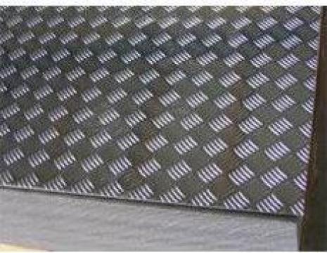 Tabla aluminiu striata 3X1000X2000 MM