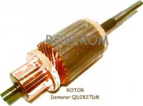 Rotor demaror QD2827DM, motor Weichai WD615