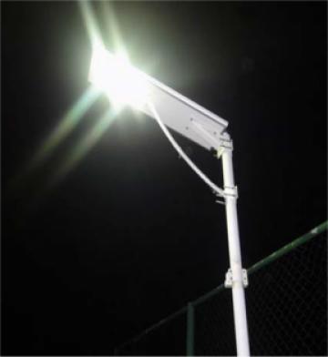 Corp compact de iluminat stradal solar LED 40W de la Samro Technologies Srl