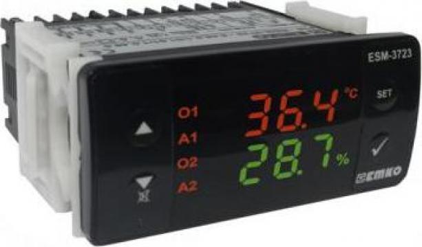 Regulator temperatura si umiditate ESM-3723 de la Rombest Automation & Controls Srl