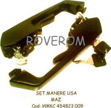 Set manere usa autovehicule MAZ-5440, 6430 (cu yala si chei)