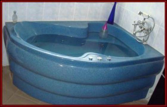 Cazi de baie compozit 150x105 cm